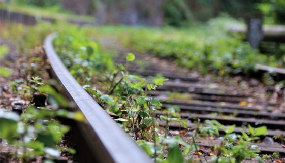 Track Railroad Tracks Train Old - furbymama / Pixabay